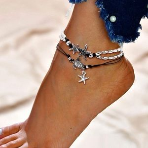 Jewelry - 🆕✨Starfish Turtle Anklet